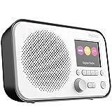 Pure Elan E3 Digitalradio (DAB/DAB+ Digital und UKW-Radio mit Weckfunktionen, Kchen- und Sleep-Timer, 2,8-Zoll-TFT-Farbdisplay, 40 Senderspeicherpl?tze), Schwarz, VL-62956 -