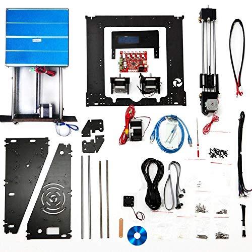 Imprimante 3D Dernière mise à niveau LCD de haute qualité Haute précision Reprap Prusa i3 DIY 3d Imprimante