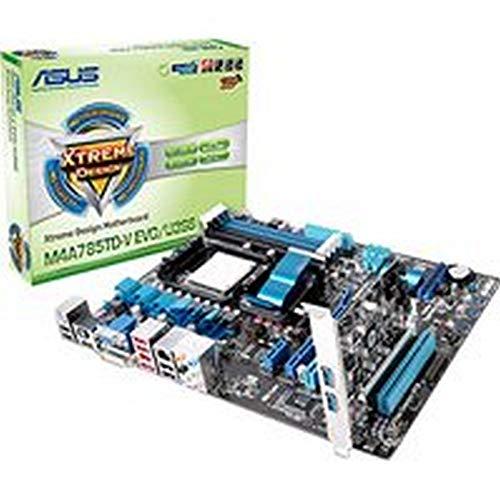 Asus M4A785TD-V EVO - Placa base (16 GB, DDR3 1800(O.C.)/1600(O.C.)/1333/1066/800, AMD, Socket AM3, Phenom II/Athlon II/Sempron 100, VT1708S)
