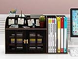 Desk Organizer, Schreibtisch Organizer, Organizer Aufbewahrung Hölzerner Diy Bürobedarf Mit...