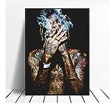 asfrata265 Wiz Khalifa Rap Hip-Hop Musik Kunst Poster Druck