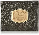 John Deere Herren-Geldbörse mit historischem Logo, braun, Einheitsgröße