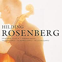 Rosenberg: String Quartet Nos. 4 & 7/6 Moments Mus