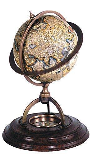 Globo terrestre con brújula, Terrestrial Globe
