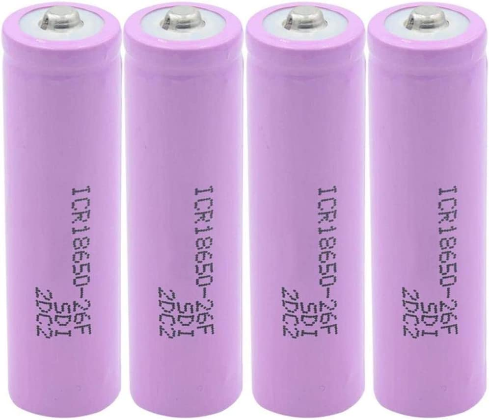New Lithium-ion Fashionable Lithium Battery Luxury ICR S 18650 3.7V 26F
