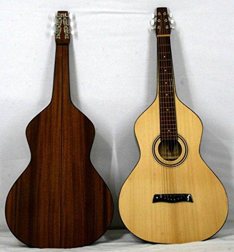 "Musikalia Hawaiian Lap-Steel Gitarre ""Weissenborn Style 2,5cm Copy in Mahagoni, luthier-crafted"