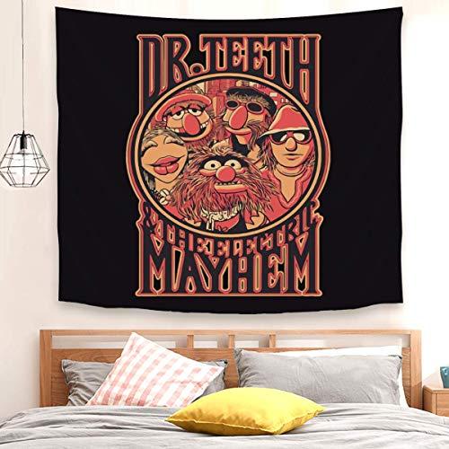 Dr. Teeth - Tapiz para colgar en la pared, 150 x 100 cm