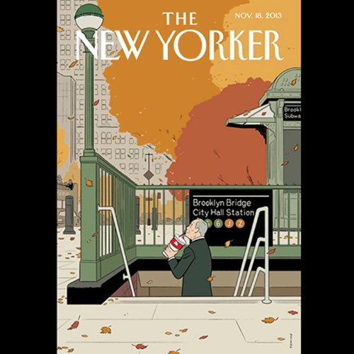 The New Yorker, November 18th 2013 (George Packer, Patrick Radden Keefe, Peter Hessler) cover art