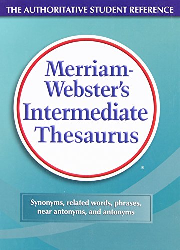 Merriam-Webster's Intermediate Thesaurus