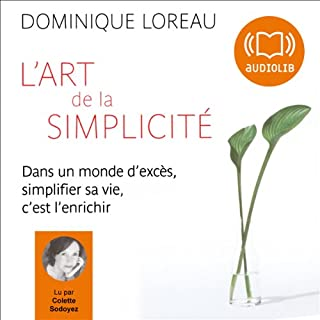 Couverture de L'art de la simplicité