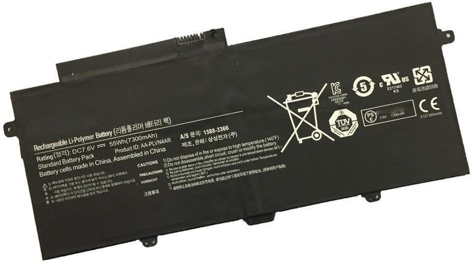 AA-PLVN4AR Laptop Battery for NP-940X3G Samsung NP-930 NP-910S5J Over Max 52% OFF item handling ☆