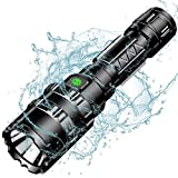 Tactical Flashlight, Wastou 1200 Lumen Super Bright Pocket-Sized 5 Modes Outdoor Handheld LED