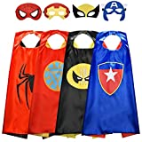 ROKO 3-10 Year Old Boy Gifts, Superhero Costume for Boys Superhero Capes