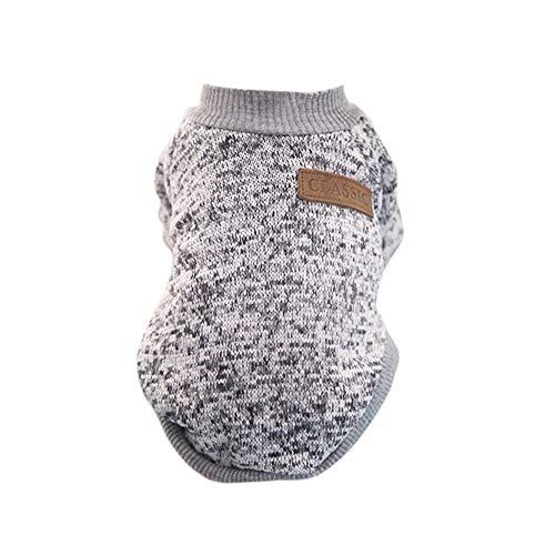 Lifemaison Hund Sweater Hauster Katze Hund Pullover Warm Winter Kleidung Welpen Mantel für Klein Haustier
