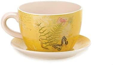 Garden Butterfly Teacup Planter (Garden Butterfly Teacup Planter)