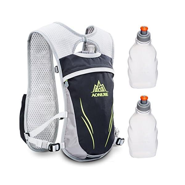 51ZhFln6DML. SS600  - Geila Mochila de hidratación, Chaleco de hidratación al Aire Libre Sport Trail Marathoner Running Race Mochila Ligera…