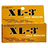 XL-3 Cold Medicine Tablets - 3PC