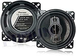 $27 » 1 Pair Universal TS-A1095S 12V 4 Inch 400W Max Power 4-Way Mini Car Audio Speaker Coaxial SubWoofer Stereo Speaker Super L...