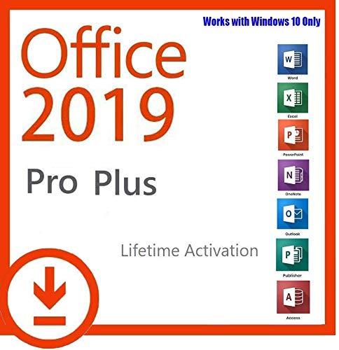 MS Office 2019 Professional Plus 32/64 bit - Chiave di Licenza Originale   Consegna 1h-24h via e-mail and Amazon Messaggio