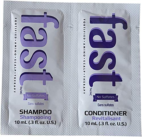 Fast shampoo e balsamo campione Travel bustine Hair Growth 10 ml campioni X10