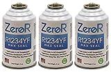 ZeroR R1234YF_ AC MAX Seal Leak Stop - Repairs Metal & Rubber! - 3 Cans