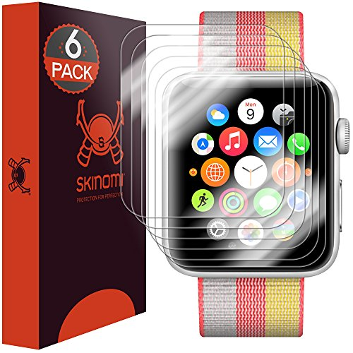 Skinomi Full Coverage Apple Watch 42mm Screen Protector