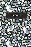 Ouganda: Carnet de voyage ligné - Journal de voyage pour hommes et femmes avec lignes