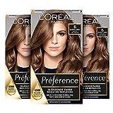 L'Oréal Paris Préférence 6 Natur Hellbraun (Buenos Aires) 3er Pack(3 x 183 g)