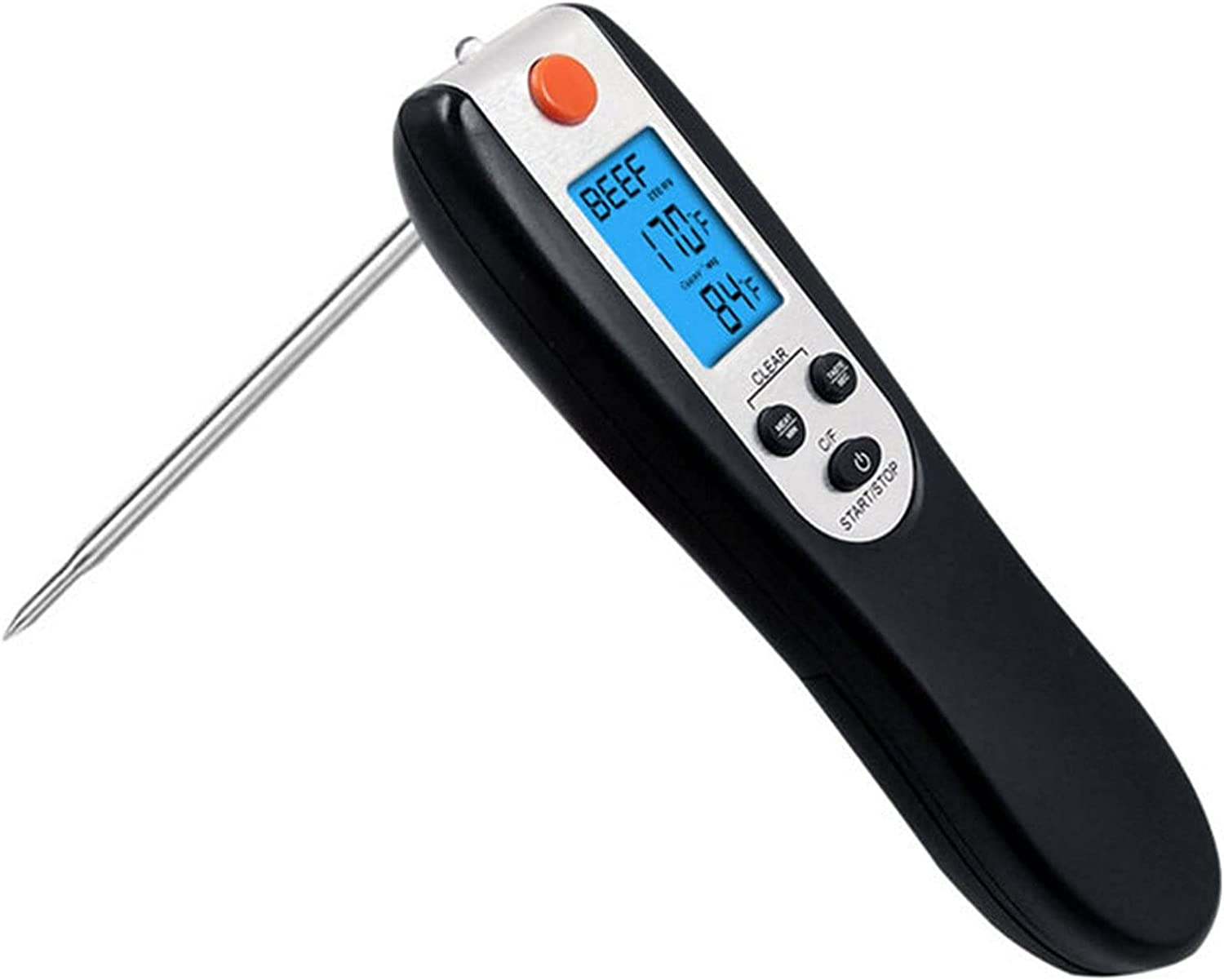 Odekai Instant Read Meat Thermometer specialty shop New Shipping Free Ultra Ther Fast Waterproof
