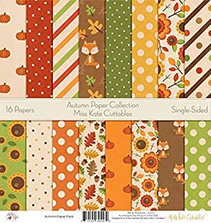 Best autumn scrapbook paper Reviews
