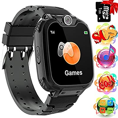 Smart Watch for Kids 7 Games Call SOS Camera Music Player Alarm Clock