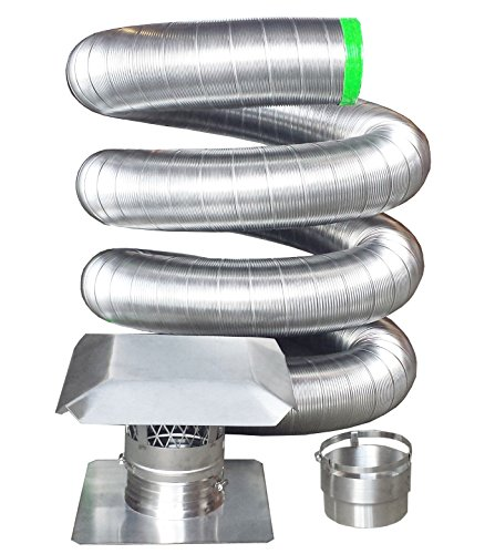 Review Of Rockford Chimney Supply RockFlex Stainless Steel Flexible Chimney Liner Insert Kit, 8 Inch...