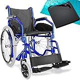 AIESI® Sedia a rotelle pieghevole leggera per disabili ed anziani...