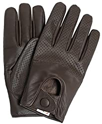 Best Driving Gloves In The World - Riparo Motorsports Men's Half Mesh Leather Driving Gloves