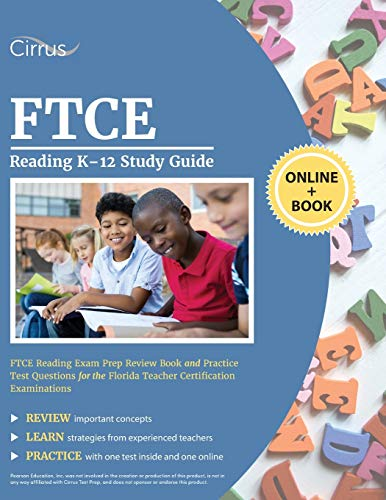 FTCE Reading K-12 Study Guide: FTCE Reading Exam Prep Review Book and Practice Test Questions for the Florida Teacher Certification Examinations download ebooks PDF Books