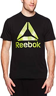 Men's Graphic Workout Tee - Short Sleeve Gym & Training Activewear T Shirt