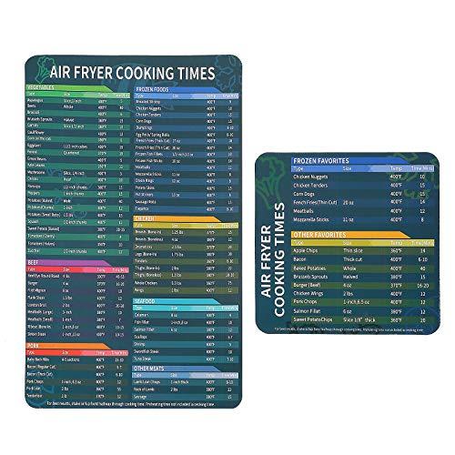 DOITOOL - 2 placas de tiempo útiles prácticas prácticas para el hogar olla de presión freidora de aire restaurante olla a presión