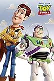 Disney Toy Story Woody & Buzz Poster. Offiziell lizenziert