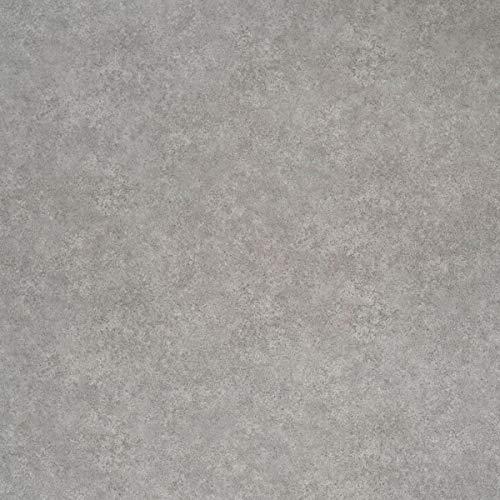 JOKA PVC Vinyl-Bodenbelag in Uni Beton Grau | CV JOKA PVC-Belag verfügbar in der Breite 200 cm & Länge 150 cm | CV-Boden wird in benötigter Größe als Meterware geliefert | rutschhemmend