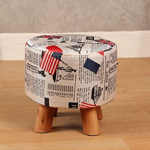 Kruk, schoenen, bank, creativiteit, kruk, vierkant, van hout, stof, kunst, sofa, kruk, salontafel, bank, bar, kruk, kruk, laag (27 cm x 29 cm) stool Een