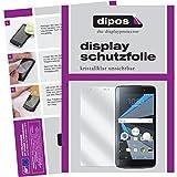 dipos I 2x Schutzfolie klar passend für Blackberry DTEK50 Folie Bildschirmschutzfolie