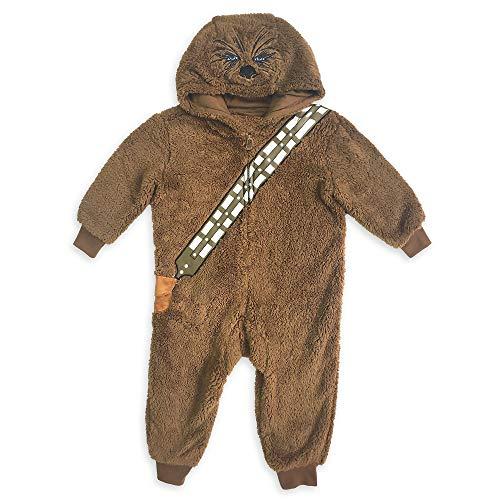 Star Wars Chewbacca Costume One-Piece Pajama for Boys, Size7/8