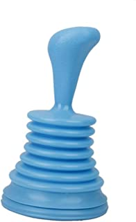 Strong Wash Basin Sink Creative Kitchen Pipe Unblocked Cleaner Durable Plastic Toilet Plunger Blue