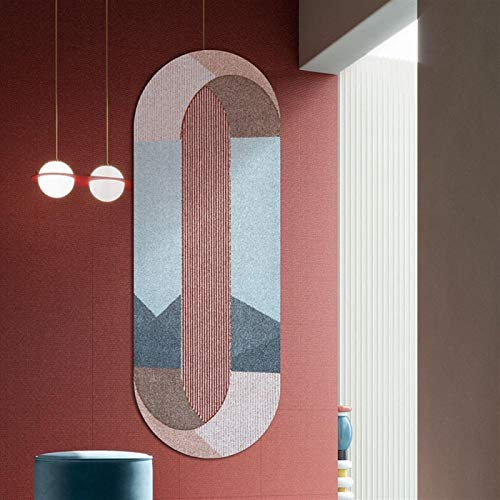 WJCRYPD Accesorios For El Dormitorio De La Tira Ovalada Alfombra De La Sala Dormitorio Mesa De Centro De Noche Manta Qf Shop (Color : A, Size : 800MM×2000MM)