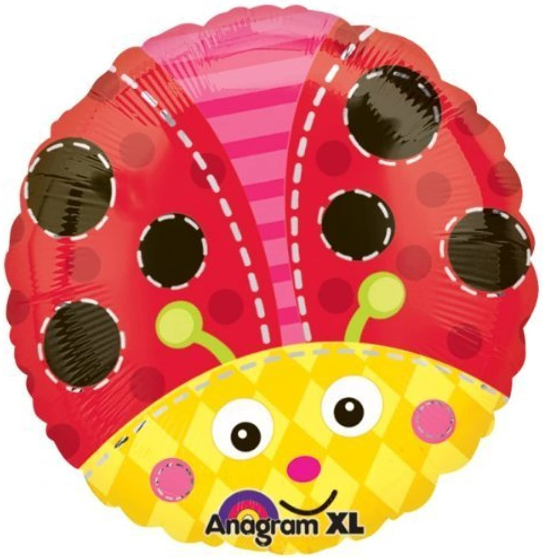 Ladybug Ladybird Foil Balloon 18 by Ladybug Party