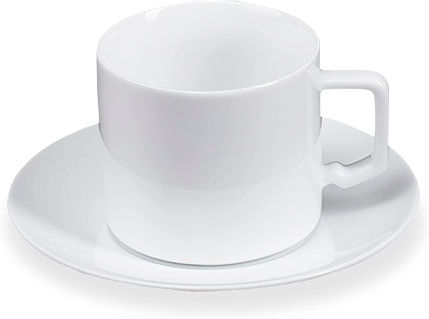 JGSXBVR SM Tea Cups and Inexpensive Saucers with combined El art 7oz 100% quality warranty Coffee