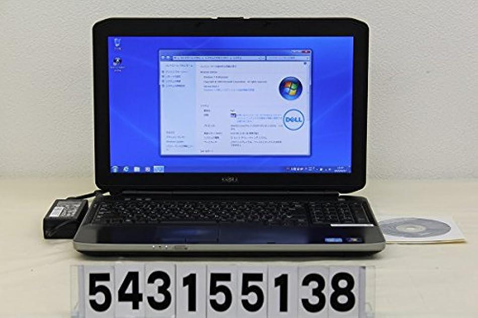 インタラクション小切手前文【中古】 DELL Latitude E5530 Corei3-2.3G/4G/320G/MULTI/11n/15.6W/Win7