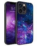 BENTOBEN Funda iPhone 13 Pro MAX, Carcasa Cover Ultra Delgada Moda Nebulosa Resistente 2 en 1 Híbrido Duro PC & Suave TPU Silicona Protectora Completa Antichoque Fundas para iPhone 13 Pro MAX 6.7''