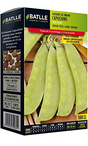 Batlle Graines de légumes géantes Tirabeque 100 g