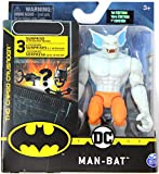 DC Batman 2020 White Man-Bat Variant 4-inch Action Figure by Spin Master